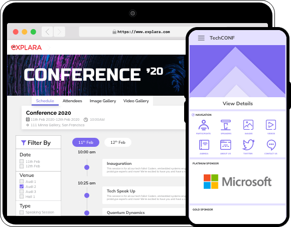 Event Connect App